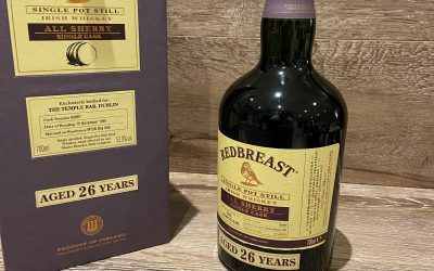 What they aren't telling you about The Temple Bar Single cask from Redbreast…..